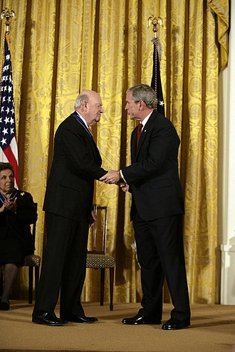 Laurence Silberman - Silberman and President George W. Bush in 2008