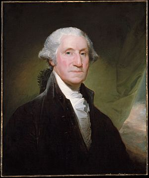 First President of the United States George Wa...