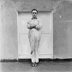 Gerhard Richter - Gerhard Richter c. 1970, photograph by Lothar Wolleh