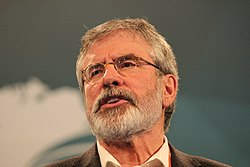Gerry Adams Speech Rehearsal 2015 (16112135204)