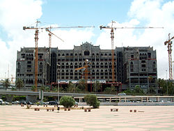 Ghazala Intercontinental Hotel Tripoli Under Construction.JPG