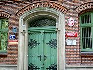 Gimnazjum nr 1 w Krakowie wejście