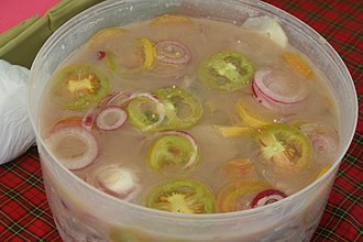 Bagoong - Guinamos (fish bagoong) with tomatoes and onions from Cebu
