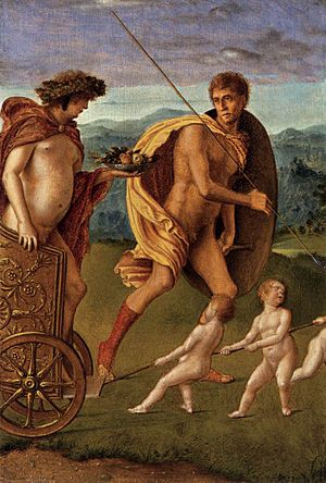 Allegories (Bellini) - The Perseverance