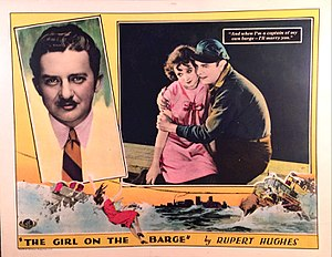 Girl on the Barge - Lobby card