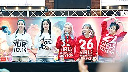 Girls' Generation at fansigning event in August 2017 01.jpg