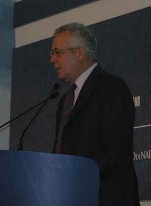 Giulio Tremonti, italian politician.