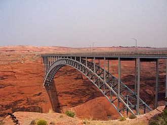 Colorado River Storage Project - Glen Canyon Bridge