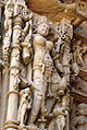 Goddess on the Walls for Sun Temple at Modhera.jpg