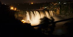 Illuminated Gokak Falls