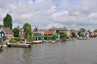 Zaandijk Town in North Holland, Netherlands