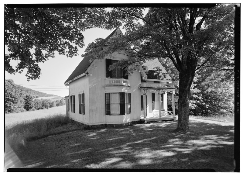 File:Gothic Cottage, State Route 166 Vicinity, Middlefield Township, Westville, Otsego County, NY HABS NY,39-WESVI.V,1-2.tif