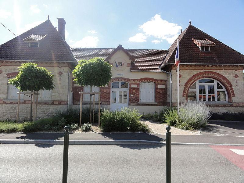 Goudelancourt-lès-Berrieux (Aisne) mairie