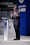 Governor of Texas Rick Perry at Citizens United Freedom Summit in Greenville South Carolina May 2015 by Michael Vadon 04.jpg