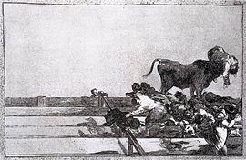 «Desgracias acaecidas en el tendido de la plaza de Madrid y muerte del alcalde de Torrejón», 1816.