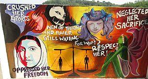 Pampady - Graffiti for Women's Liberation