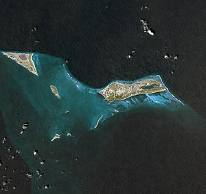 Grand Turk Island - Image: Grand Turk From Space 2009 By NASA