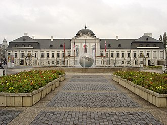 Hodžovo námestie - Grassalkovich Palace