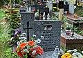 Grave of Andrzej Zaucha, Pradnik Czerwony Cemetery, 48 Powstańców street, Krakow, Poland.jpg