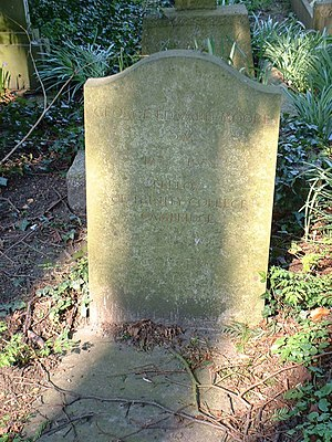 G. E. Moore - Gravestone of philosopher G. E. Moore and wife Dorothy Moore