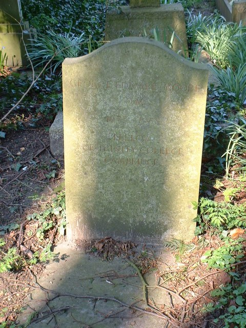 Grave of philosopher G.E. Moore - geograph.org.uk - 382503