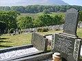 Gravestones in Rehoboth Cemetery - geograph.org.uk - 430036.jpg