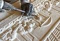 Gravure sur pierre de Bourgogne - La cène - Atelier Le Comptoir des Pierres.jpg