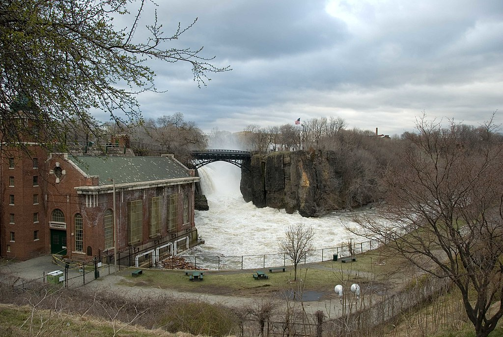 wiki great falls passaic river