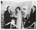 Great Kills Branch Library, 56 Giffords Lane (Anne Hedgman presents key to Mr. Zurmuhlen) (NYPL b11524053-1252668).tiff