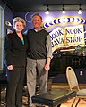 Great visit with Bryan and his team at the Book Nook & Java Shop in Montague. (40498810905).jpg