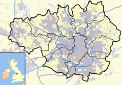 Bury is located in Greater Manchester