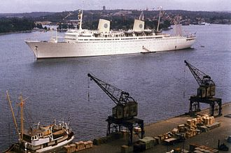 MS Gripsholm (1957) - Image: Gripsholm 1958