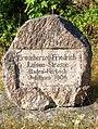 Grossherzog-Friedrich-Luisen-Strasse Gedenkstein Oberbeuern IMGP0136.jpg