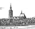 Grote of St.-Jacobskerk, Den Haag. Circa 1667. Cornelis Elandt.png
