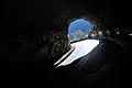 Grotte du Mas d'Azil, entrée de la route (sud).JPG