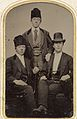 Group portrait of three young men, ca. 1856-1900. (4732549856).jpg