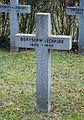 GuentherZ 2013-01-12 0401 Wien11 Zentralfriedhof Gruppe88 Soldatenfriedhof polnisch WK2 Grabkreuz Boryslaw Lechniak.JPG