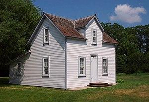 National Register of Historic Places listings in Pembina County, North Dakota - Image: Gunlogson House