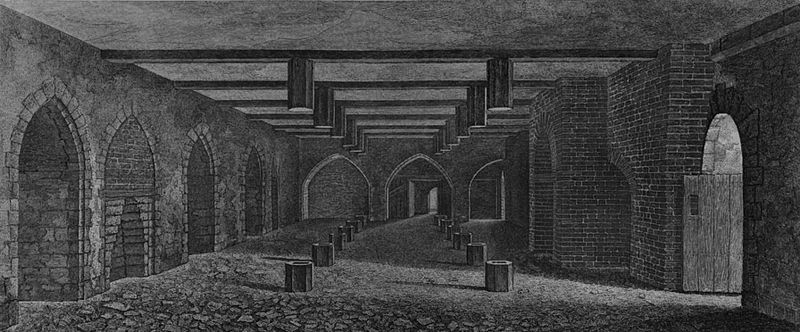 Gunpowder plot parliament cellar
