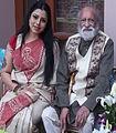 Guru Sanchita with Bharat Ratna Pandit Ravi Shankarji.jpg