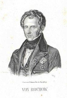 Gustav von Rochow (Quelle: Wikimedia)