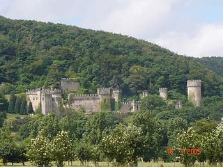 Gwrych Castle Grade I listed building in Conwy County Borough