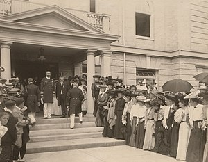 H.R.H. Prince Louis of Battenberg at the opening of The Canadian National Exhibition, Toronto.jpg