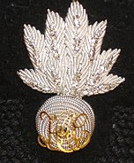 HAC Officers Forage Cap Badge