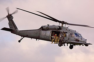 Sikorsky HH-60 Pave Hawk combat search and rescue helicopter series of the H-60/S-70 family
