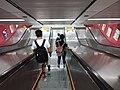HK 中環 Central MTR Station interior 遮打道 Chater Road escalators July 2019 SSG 01.jpg