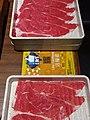 HK 鰂魚涌 Quarry Bay 康怡廣場 Kornhill Plaza Shabu Sai Restaurant 火鍋 hot pot diner January 2019 SSG beef fillets.jpg