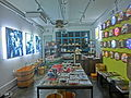 HK Sheung Wan PMQ mall shop interior Hollywood Road night May-2014 002.JPG