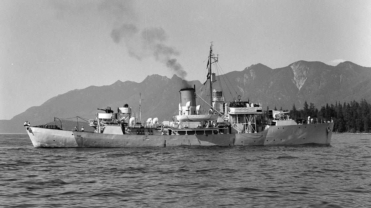 HMCS Nanaimo (K101) - Wikipedia