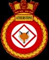 HMS Atherstone (M38) Badge